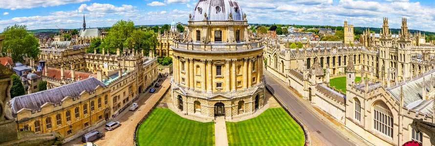 Holiday in Oxford